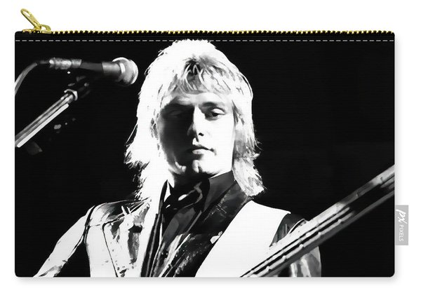 Benjamin Orr Of The Cars In Concert Carry-all Pouch