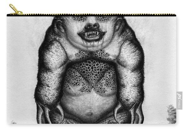 Benjamin The Nightmare Bear Artwork Carry-all Pouch
