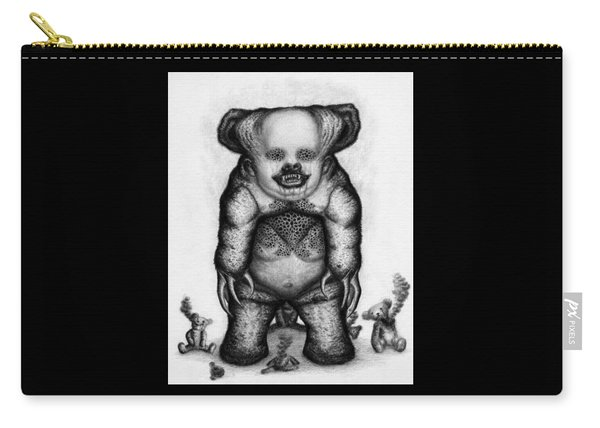 Benjamin The Nightmare Bear - Artwork Carry-all Pouch