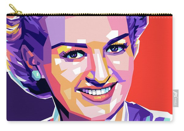 Betty Grable Pop Art Carry-all Pouch