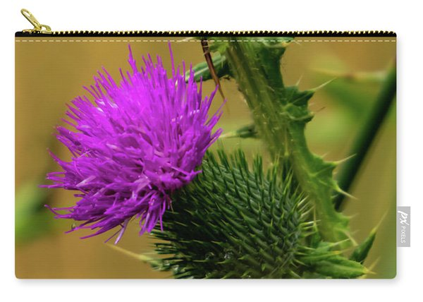 Between The Flower And The Thorn Carry-all Pouch