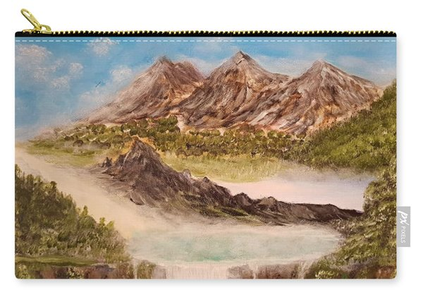 Beyond The Mountains Carry-all Pouch