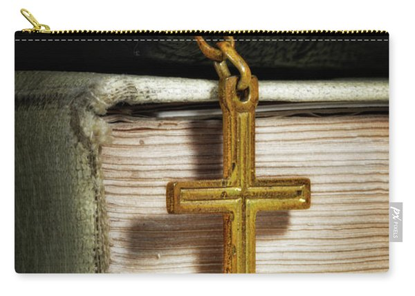 Bibles With Cross Carry-all Pouch