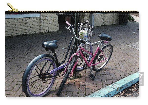 Bicycles City Park New Orleans Carry-all Pouch