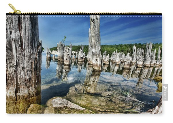 Big Bay De Noc, Michigan Carry-all Pouch
