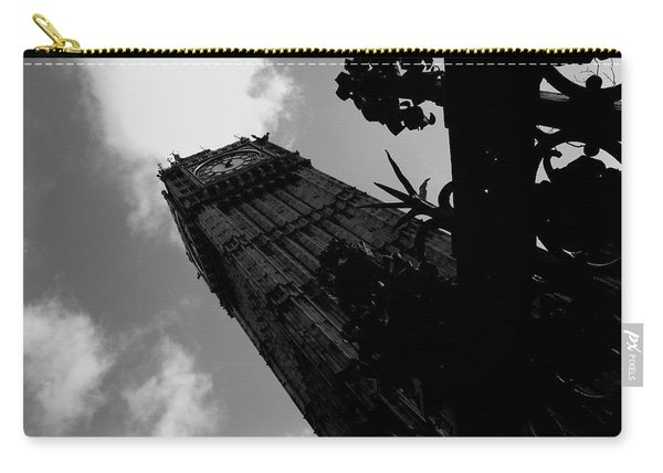 Carry-all Pouch featuring the photograph Big Ben by Edward Lee