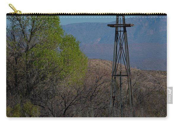 Big Bend Windmill Carry-all Pouch
