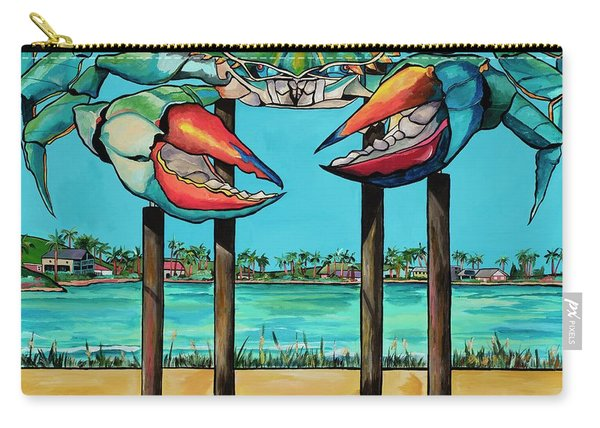Big Blue Crab Rockport Carry-all Pouch