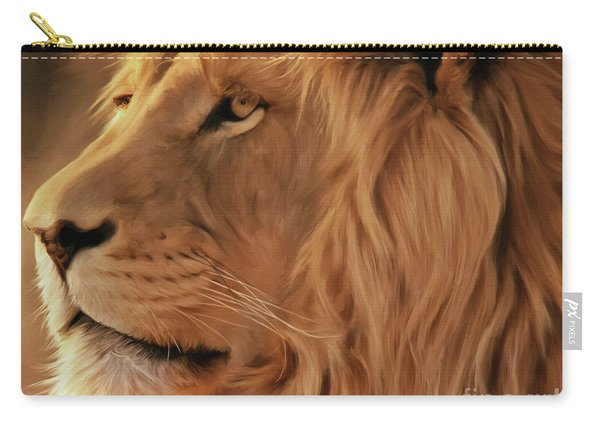Big Lion  Carry-all Pouch