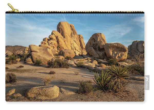 Big Rock And Boulders Carry-all Pouch
