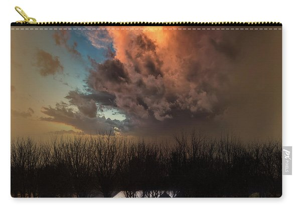 Big Sky Cranes Orchards Michigan Carry-all Pouch