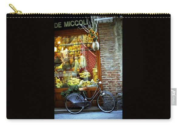 Bike In Sienna Carry-all Pouch