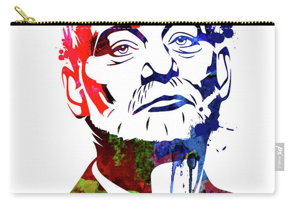 Bill Murray Watercolor Carry-all Pouch