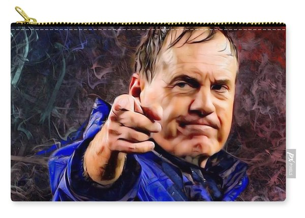Bill Stephen Belichick Portrait Carry-all Pouch