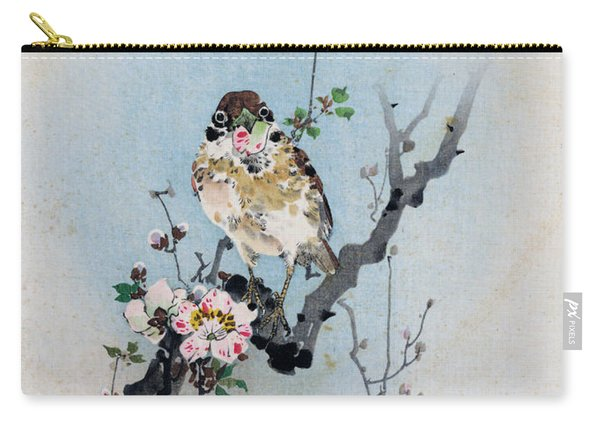 Bird And Petal Carry-all Pouch