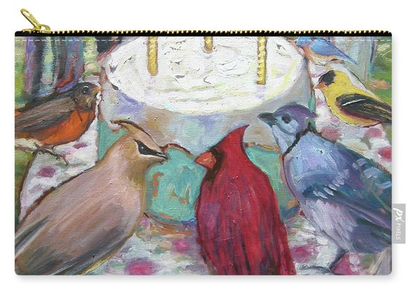 Bird Day Party Carry-all Pouch