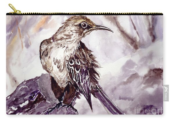 Bird On The Rock Carry-all Pouch