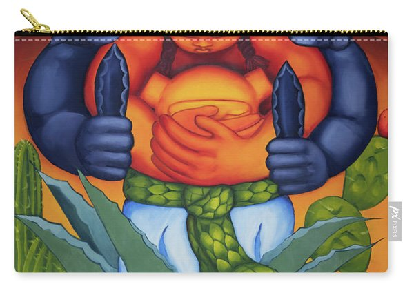 Birth Of The Sun Carry-all Pouch