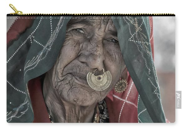Bishnoi Woman Carry-all Pouch