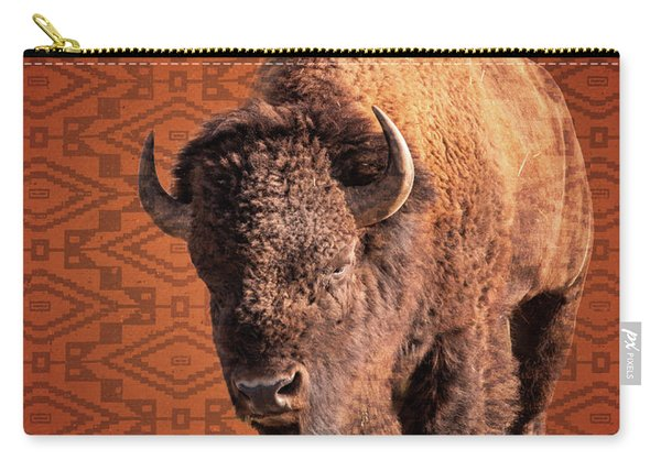 Bison Blanket Carry-all Pouch