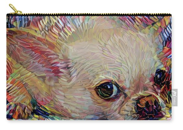 Bitsy The Chihuahua Carry-all Pouch