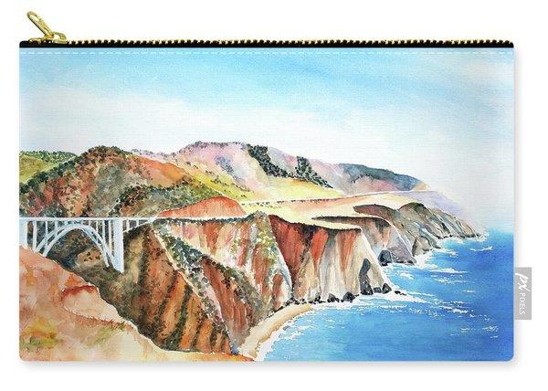 Bixby Bridge 3 Big Sur California Coast Carry-all Pouch