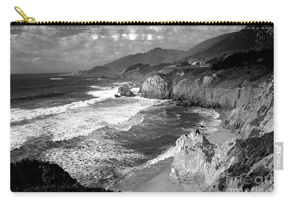 Black And White Big Sur Carry-all Pouch