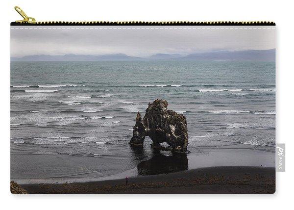 Black Beach And Hvitserkur Carry-all Pouch