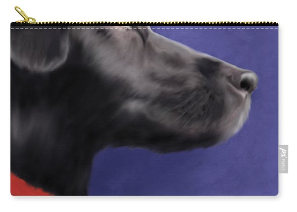 Black Labrador Retriever - Wish Upon A Star  Carry-all Pouch