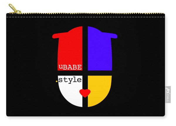 Black Style Carry-all Pouch