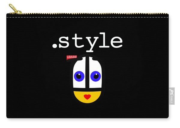 Black Style Ubabe Carry-all Pouch
