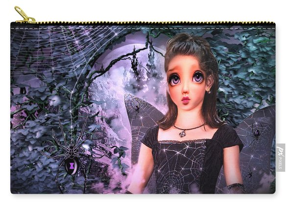 Black Widow Princess Carry-all Pouch