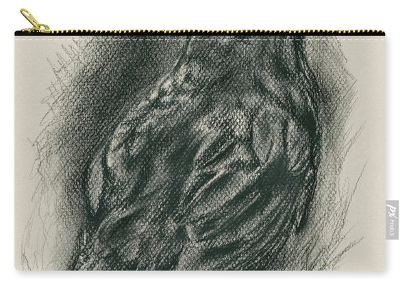 Blackbird In The Grass Carry-all Pouch