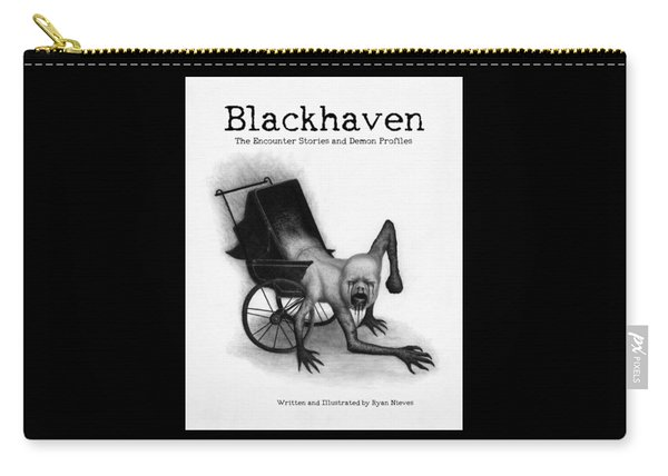 Blackhaven The Encounter Stories And Demon Profiles Bookcover, Shirts, And Other Products Carry-all Pouch