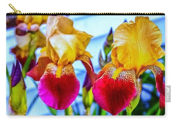 Blatant Iris Carry-all Pouch
