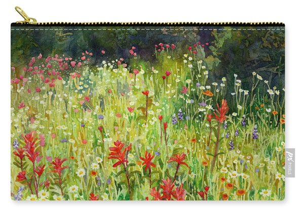 Blooming Field Carry-all Pouch