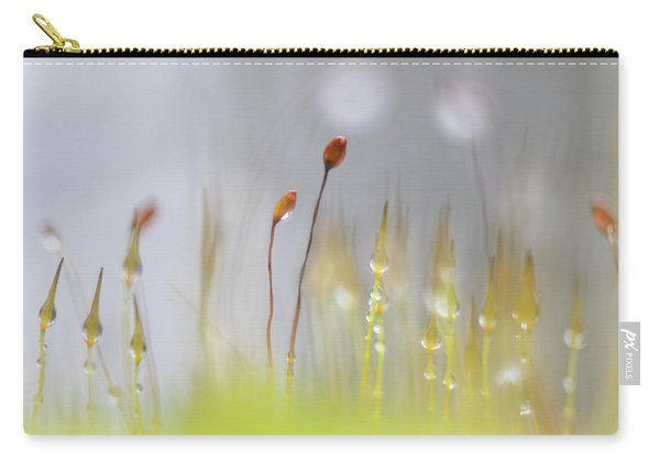 Blooming Moss Carry-all Pouch