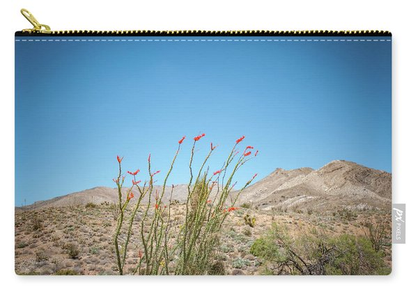 Blooming Ocotillo Carry-all Pouch