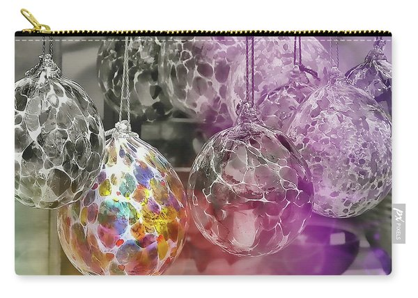 Blown Glass Ornaments Carry-all Pouch