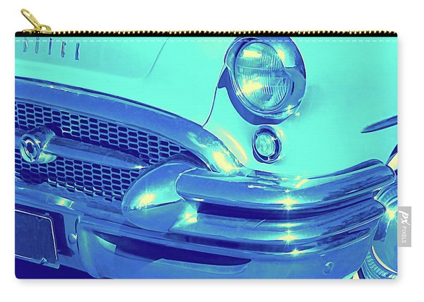 Blue 1955 Buick Special Carry-all Pouch