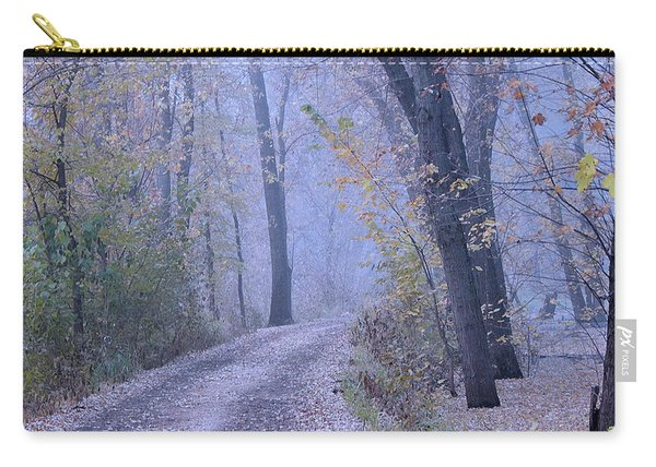 Blue Autumn Carry-all Pouch