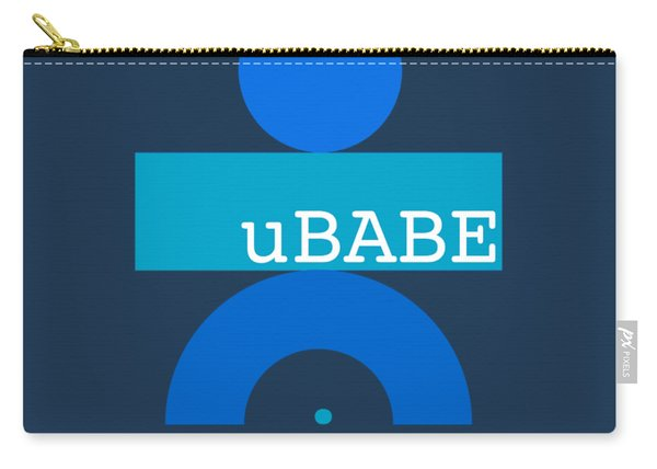 Blue Babe Carry-all Pouch
