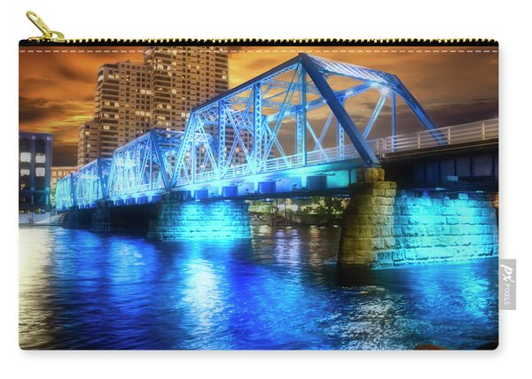 Blue Bridge Autumn Sky Carry-all Pouch