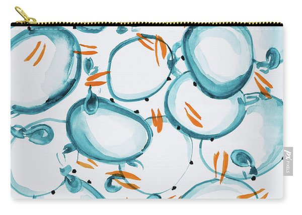 Blue Crabs Together Carry-all Pouch