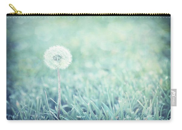 Blue Dandelion Carry-all Pouch