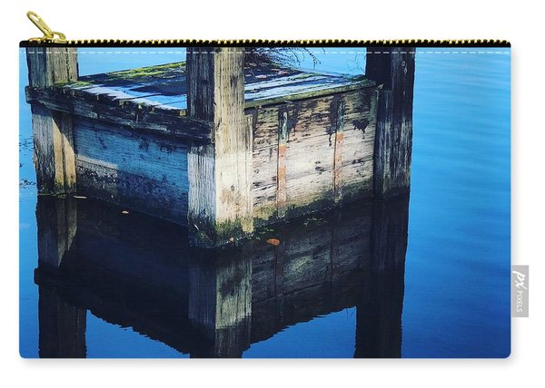 Blue Dock Carry-all Pouch