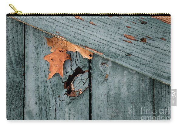 Blue Fence Carry-all Pouch