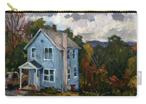Blue House October Carry-all Pouch