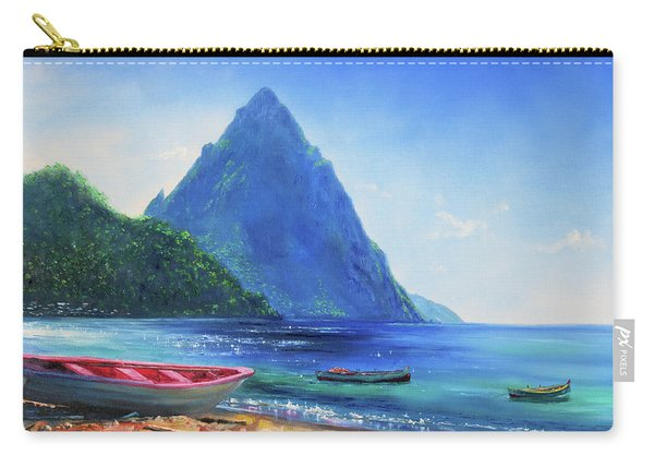 Blue Piton Carry-all Pouch