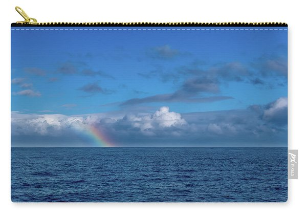 Blue Rainbow Horizon Carry-all Pouch